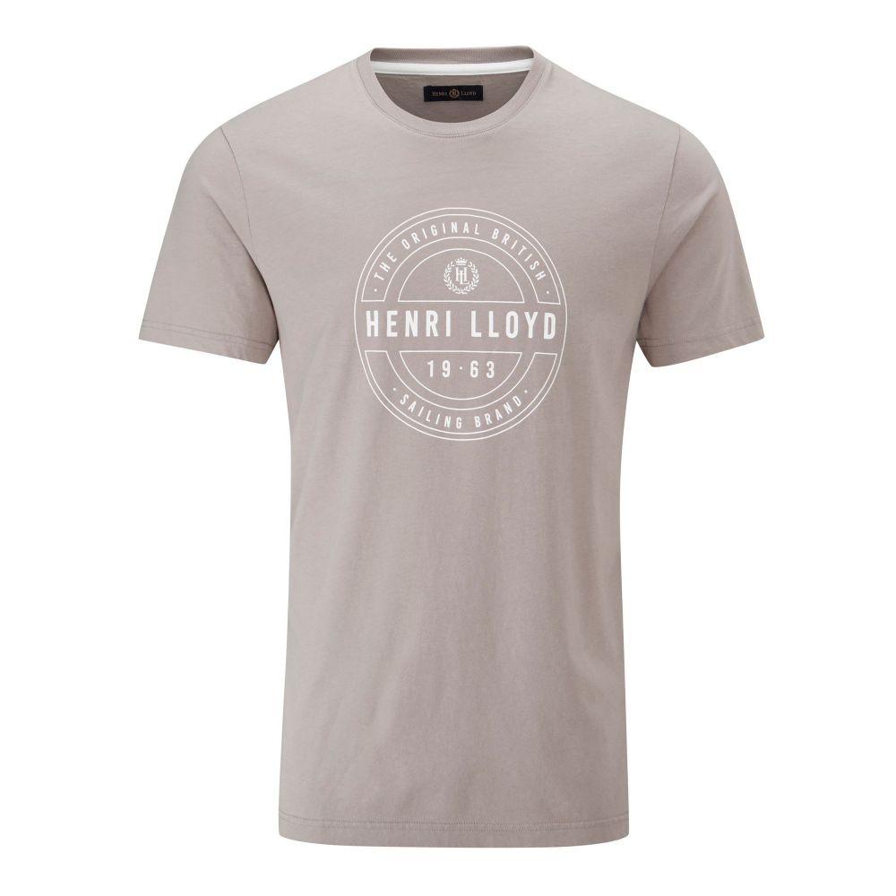 ヘンリーロイド Henri Lloyd メンズ トップス Tシャツ【Hurst Printed Tee】grey