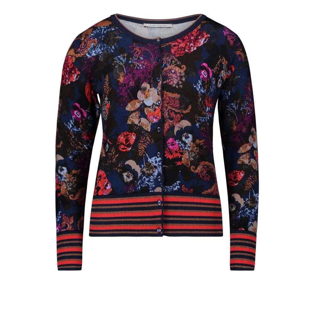 ベティー バークレイ Betty Barclay レディース トップス カーディガン【Floral Print Cardigan】multi-coloured