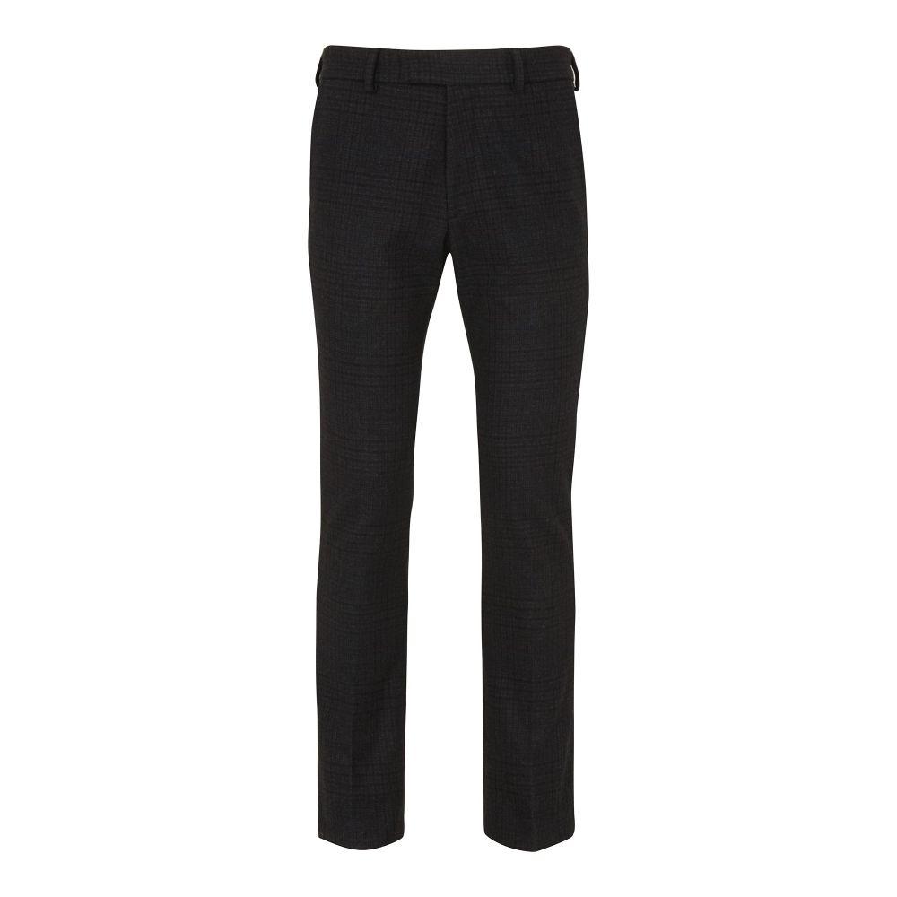 ホイッスルズ Whistles メンズ ボトムス・パンツ スラックス【Slim-fit Checked Trousers】brown