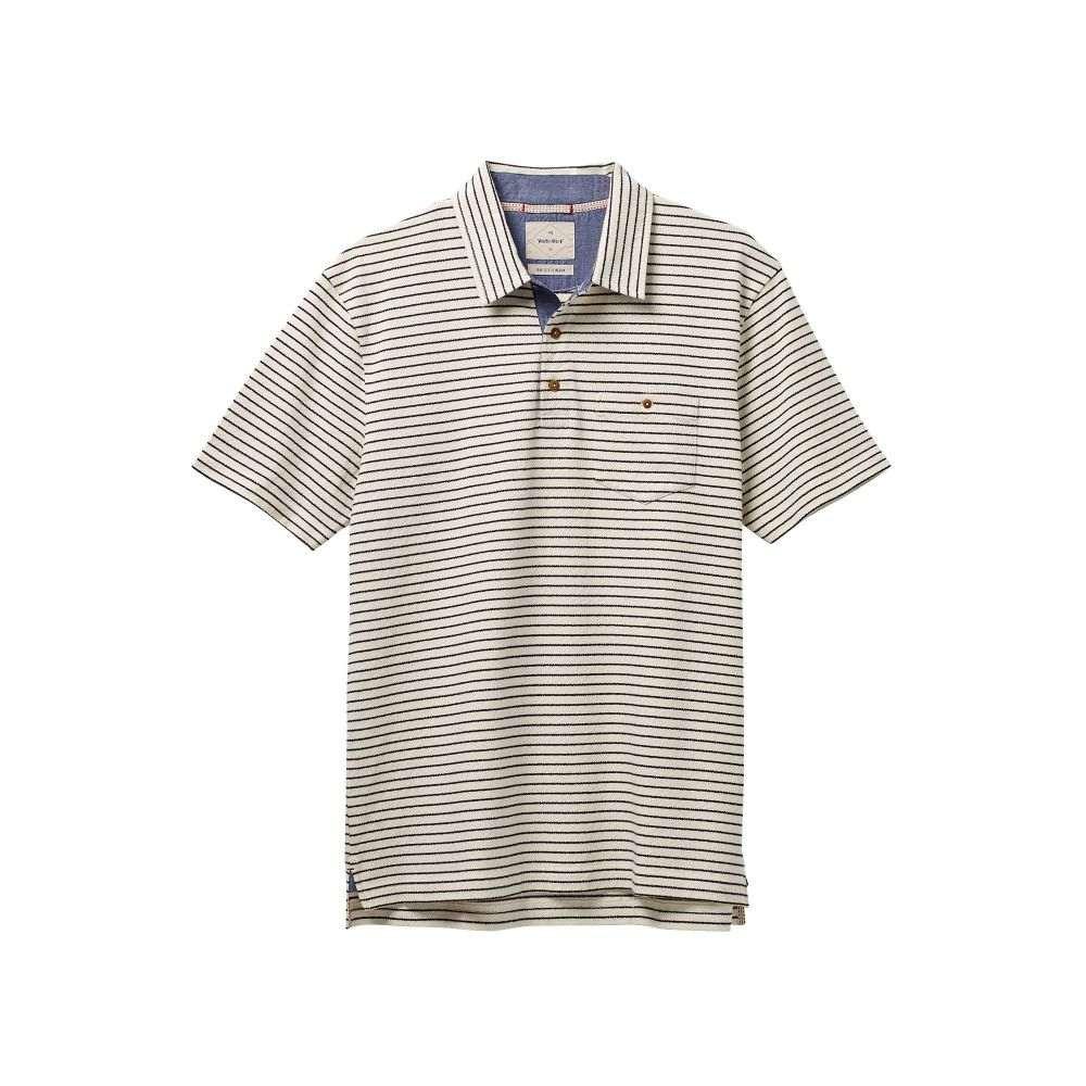 ホワイト スタッフ White Stuff メンズ トップス ポロシャツ【Vancouver Stripe Polo】ecru