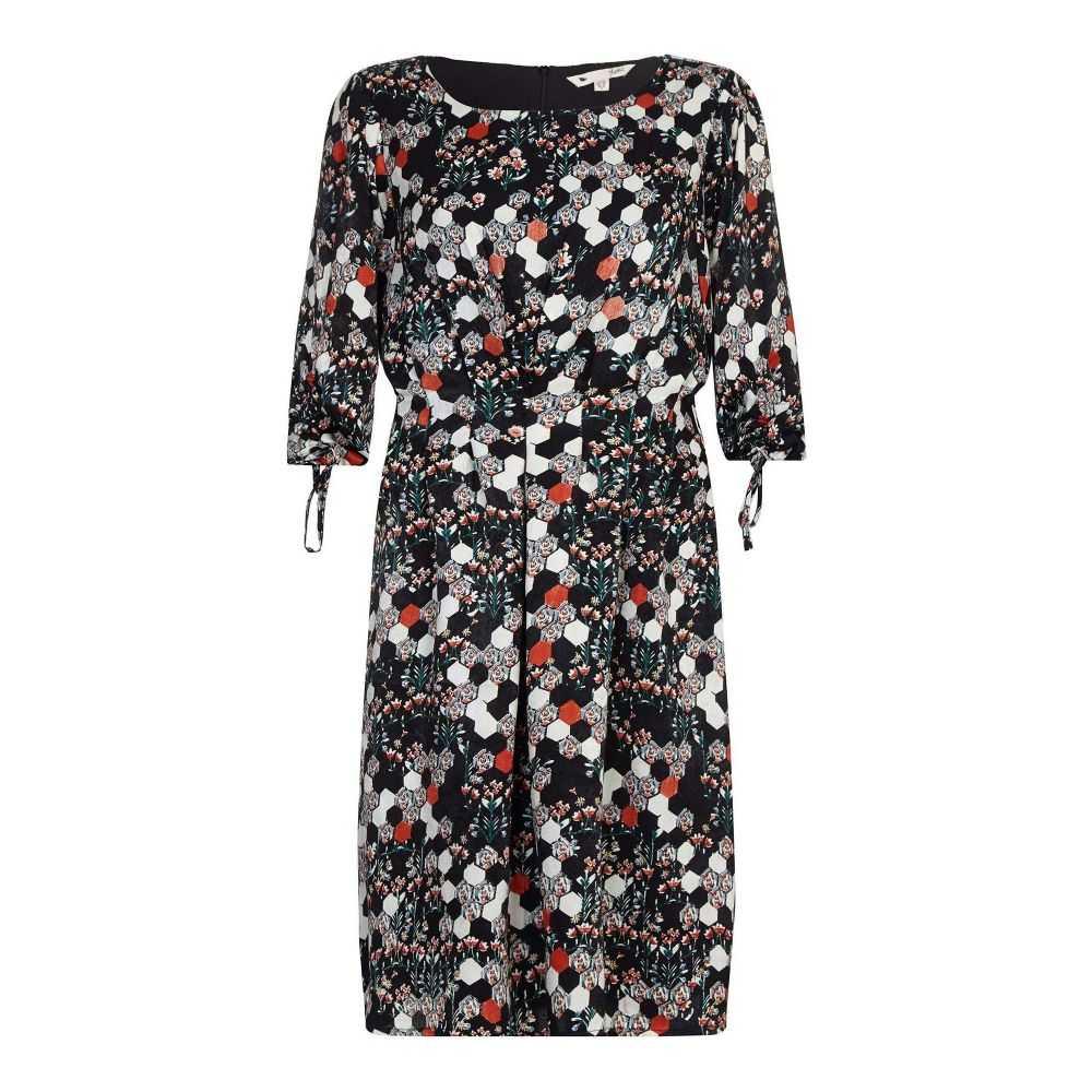 ユミ Yumi レディース ワンピース・ドレス ボディコンドレス【Pixal Floral Dress】black
