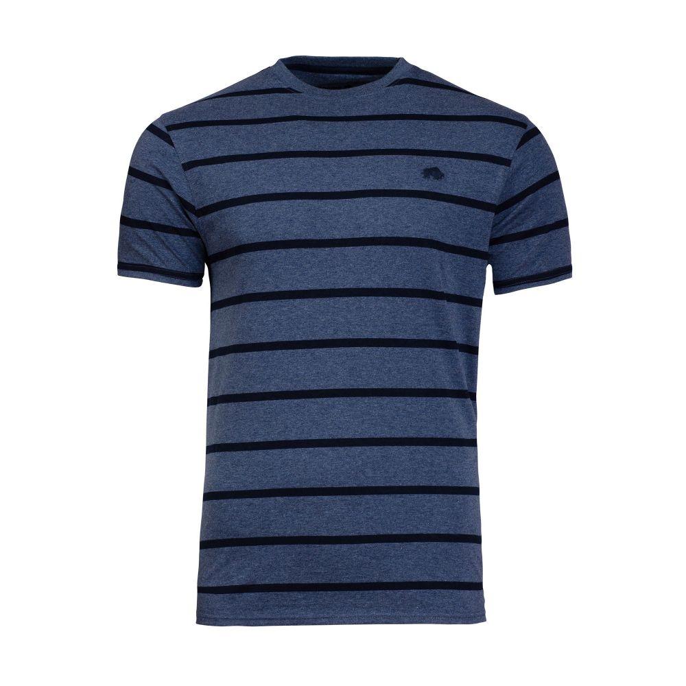 ライジング ブル Raging Bull メンズ トップス Tシャツ【Stripe Tee】mid blue