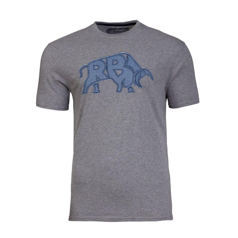 ライジング ブル Raging Bull メンズ トップス Tシャツ【Rb Bull Applique Tee】grey