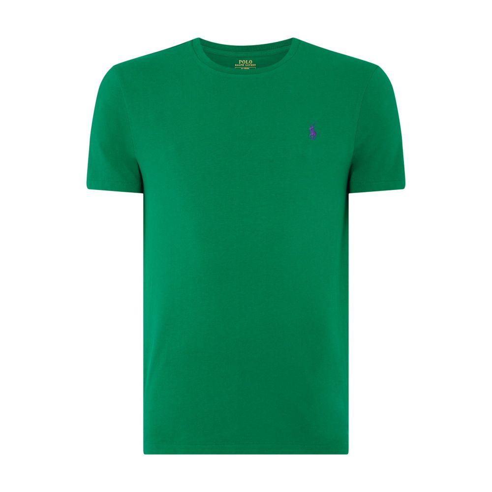 ラルフ ローレン Polo Ralph Lauren メンズ トップス Tシャツ【Short Sleeve Crew Neck T-shirt】green