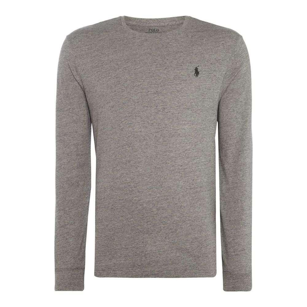 ラルフ ローレン Polo Ralph Lauren メンズ トップス Tシャツ【Long Sleeve Tee With Polo Player】heather