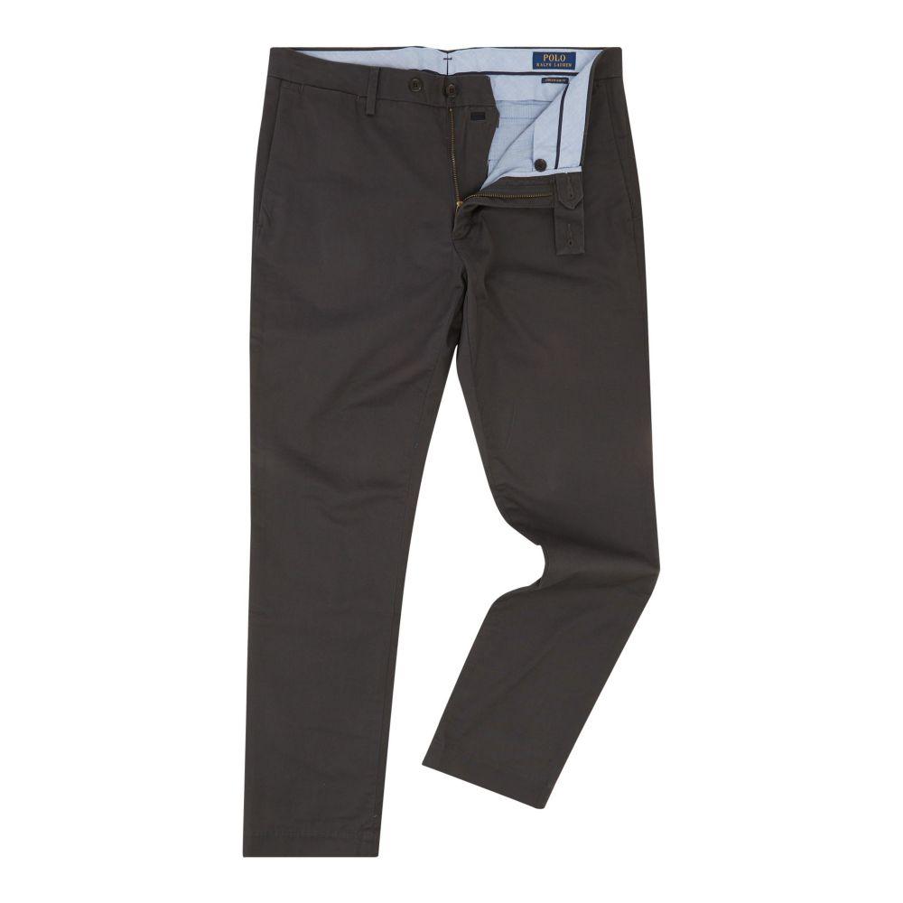 ラルフ ローレン Polo Ralph Lauren メンズ ボトムス・パンツ チノパン【Hudson Slim Fit Chino】black