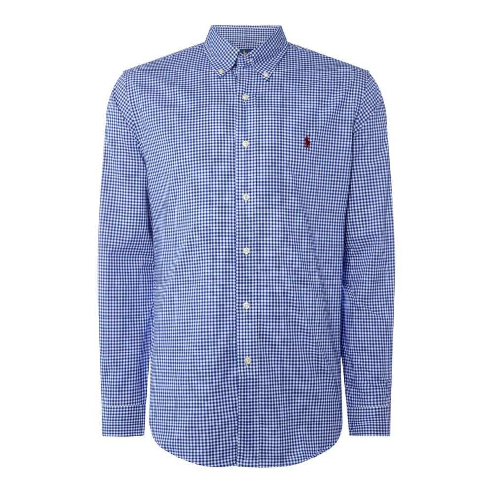 ラルフ ローレン Polo Ralph Lauren メンズ トップス シャツ【Poplin Stripe Shirt】blue