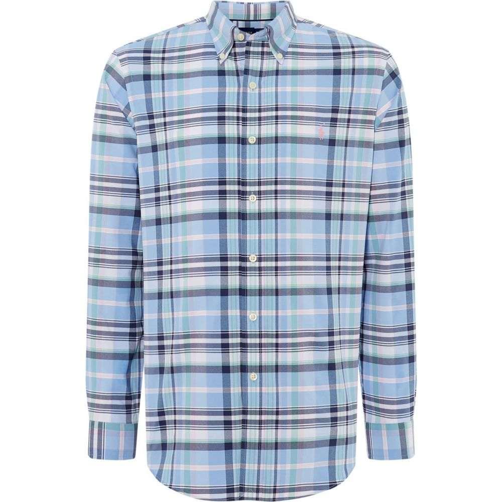 ラルフ ローレン Polo Ralph Lauren Golf メンズ トップス シャツ【Large Checked Shirt】blue