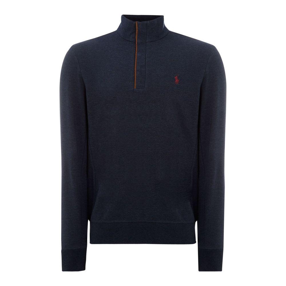 ラルフ ローレン Polo Ralph Lauren Golf メンズ ゴルフ トップス【Half Zip Sweatshirt】navy