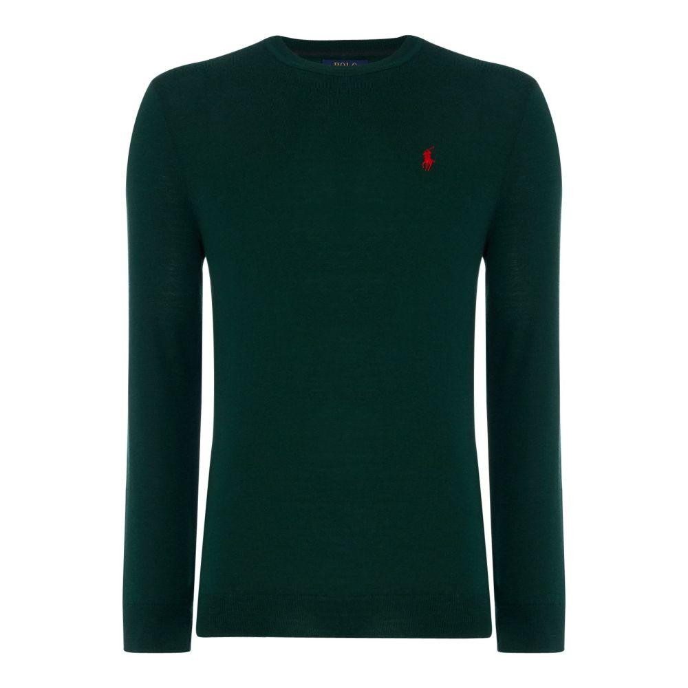 ラルフ ローレン Polo Ralph Lauren メンズ トップス ニット・セーター【Lambswool Merino Knit】green
