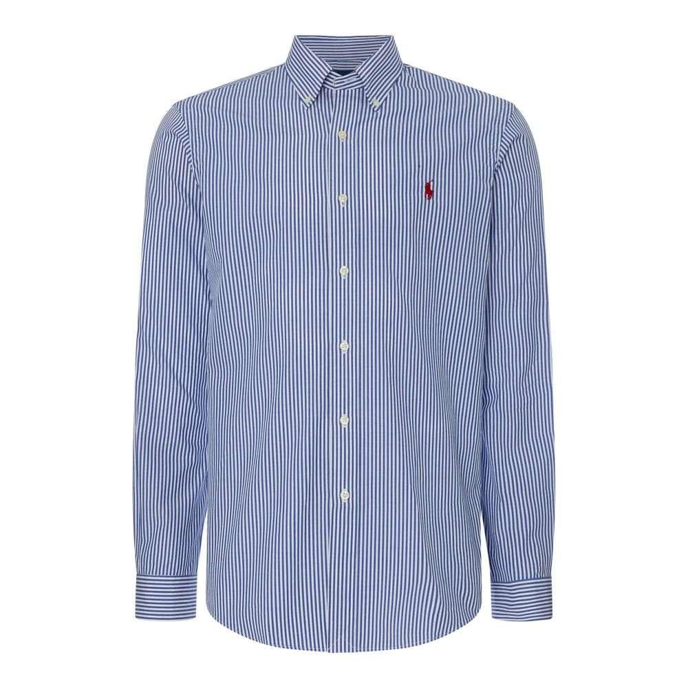 ラルフ ローレン Polo Ralph Lauren メンズ トップス シャツ【Custom Fit Striped Shirt】blue