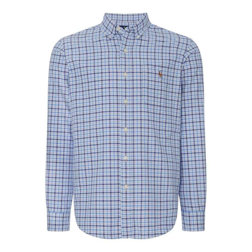 ラルフ ローレン Polo Ralph Lauren メンズ トップス シャツ【Custom Fit Multichecked Shirt】blue