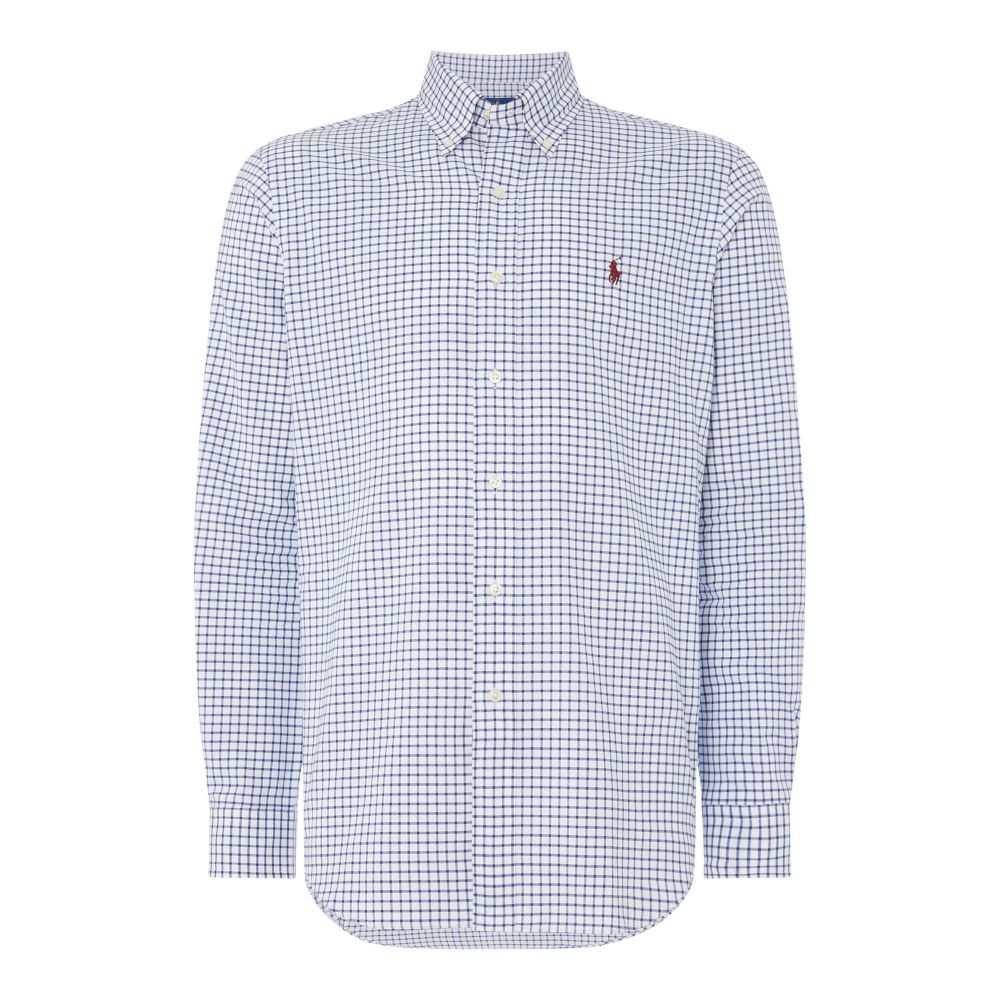 ラルフ ローレン Polo Ralph Lauren メンズ トップス シャツ【Windowpaine Checked Shirt】royal