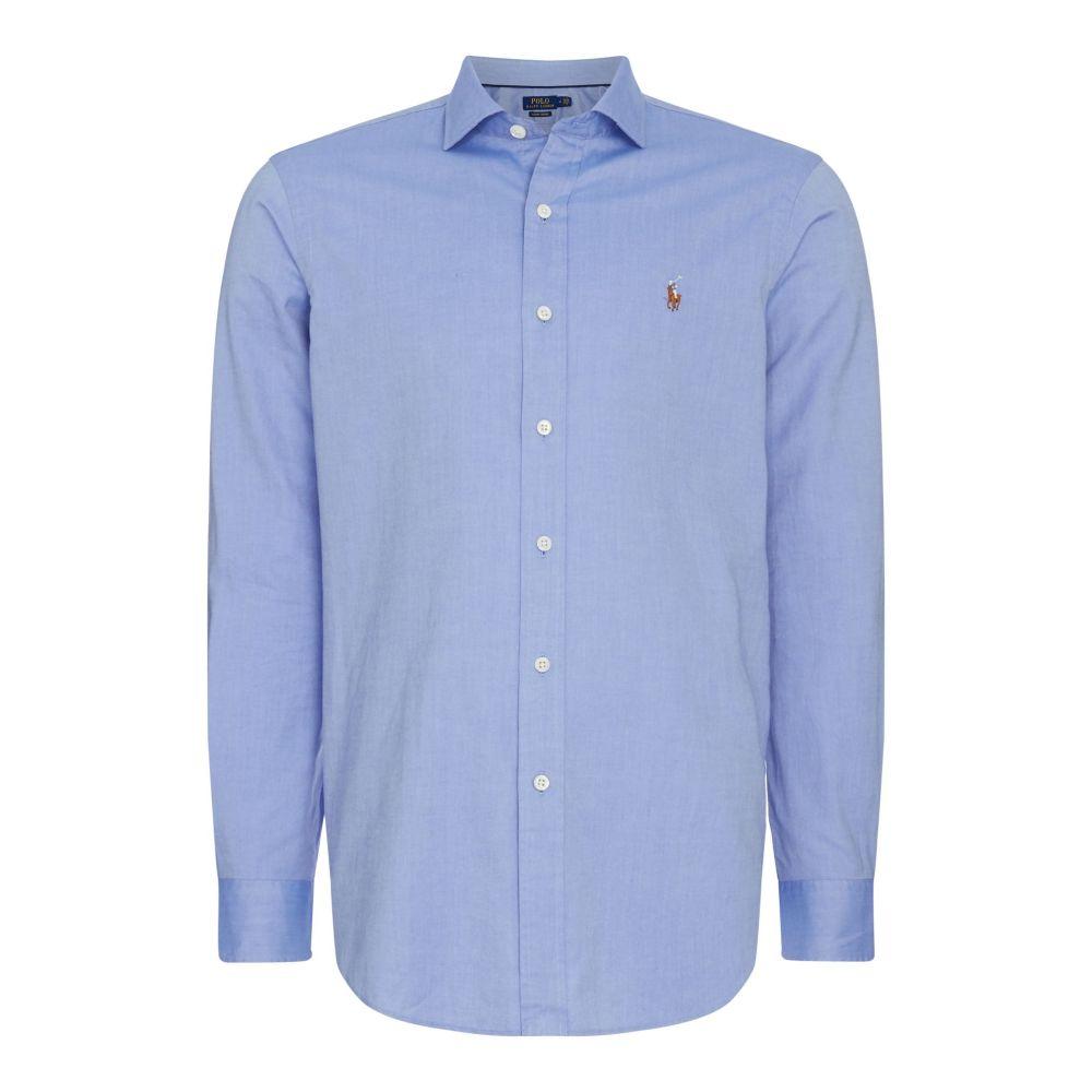 ラルフ ローレン Polo Ralph Lauren メンズ トップス シャツ【Slim Fit Estate Collar Shirt】blue