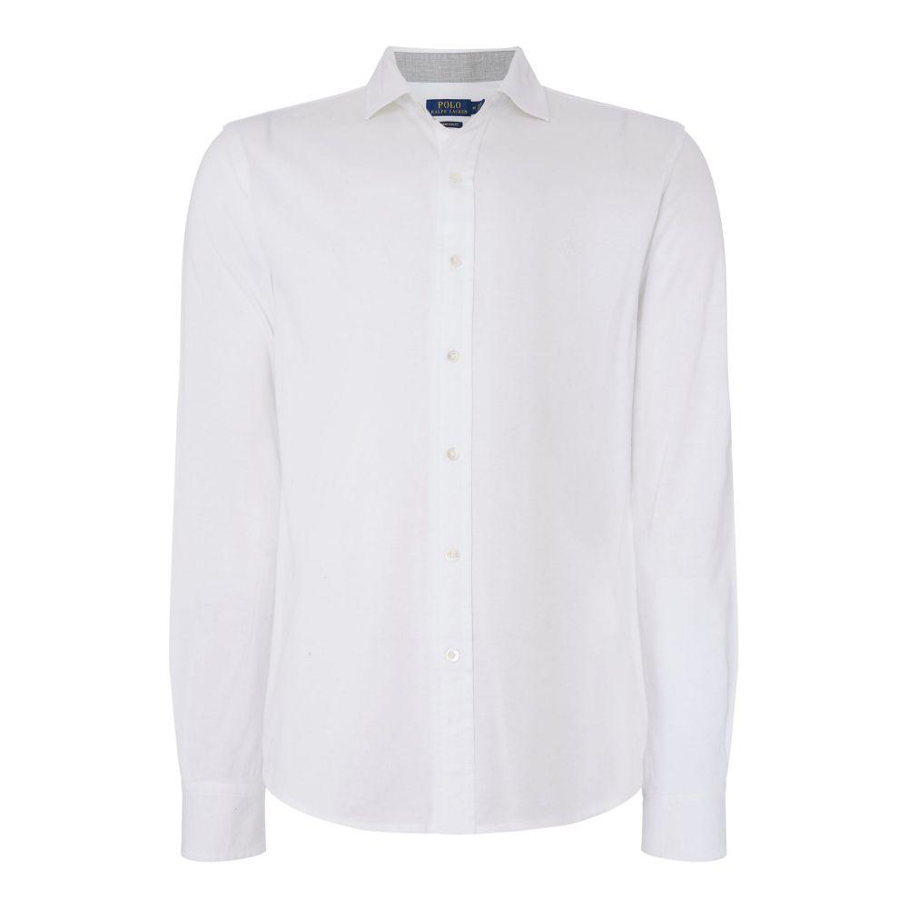 ラルフ ローレン Polo Ralph Lauren メンズ トップス シャツ【Capri Mesh Shirt】white