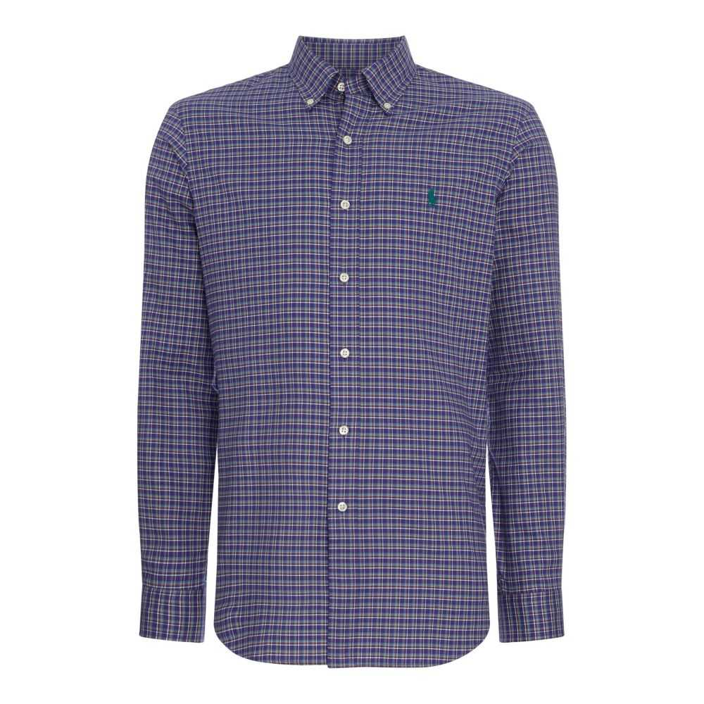 ラルフ ローレン Polo Ralph Lauren メンズ トップス シャツ【Slim Fit Autumnal Check Shirt】deep purple