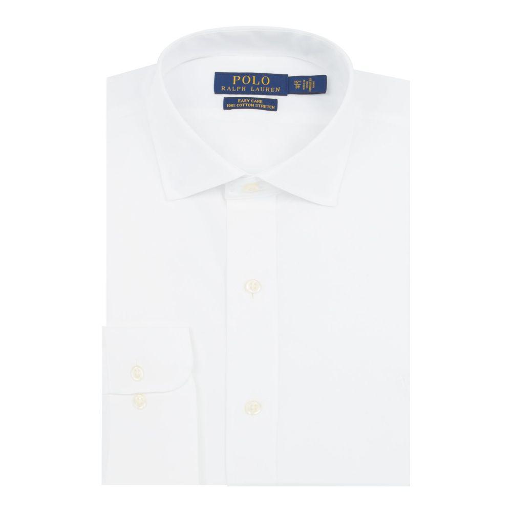 ラルフ ローレン Polo Ralph Lauren メンズ トップス シャツ【Long Sleeved Easyacare Poplin Shirt】white