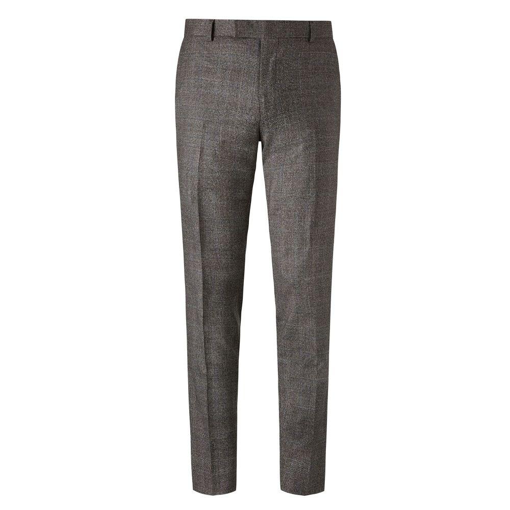 リチャード ジェームス Richard James Mayfair メンズ ボトムス・パンツ スラックス【Twisted Check Suit Trousers】grey