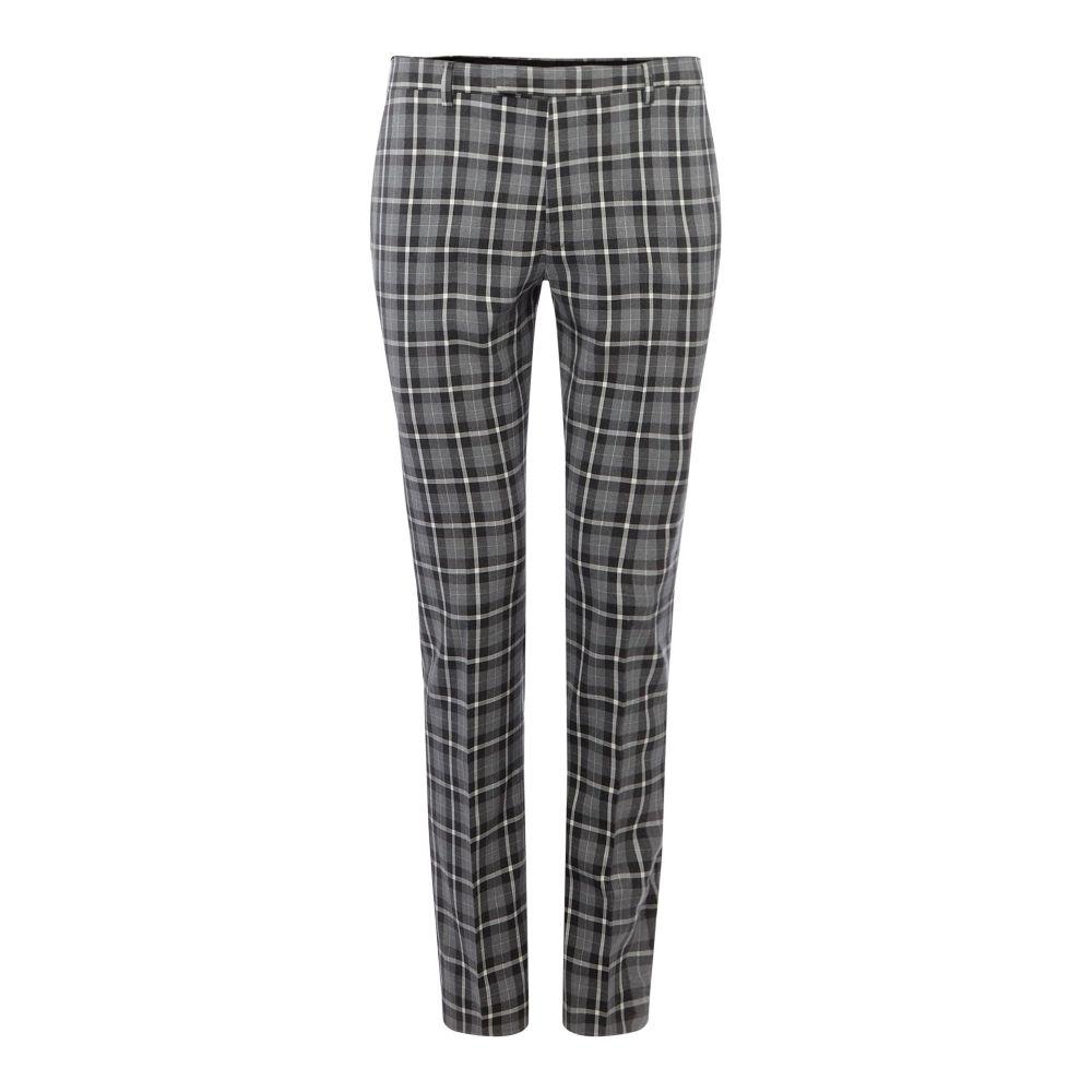 レーベルラボ Label Lab メンズ ボトムス・パンツ スラックス【Bellini Muscle Fit Mono Checked Suit Trouser】grey