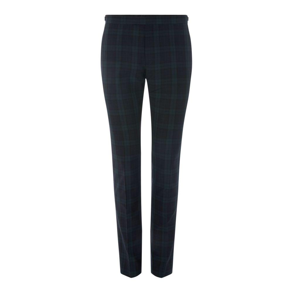 レーベルラボ Label Lab メンズ ボトムス・パンツ スラックス【Caipirinha Skinny Fit Blackwatch Check Trouser】navy