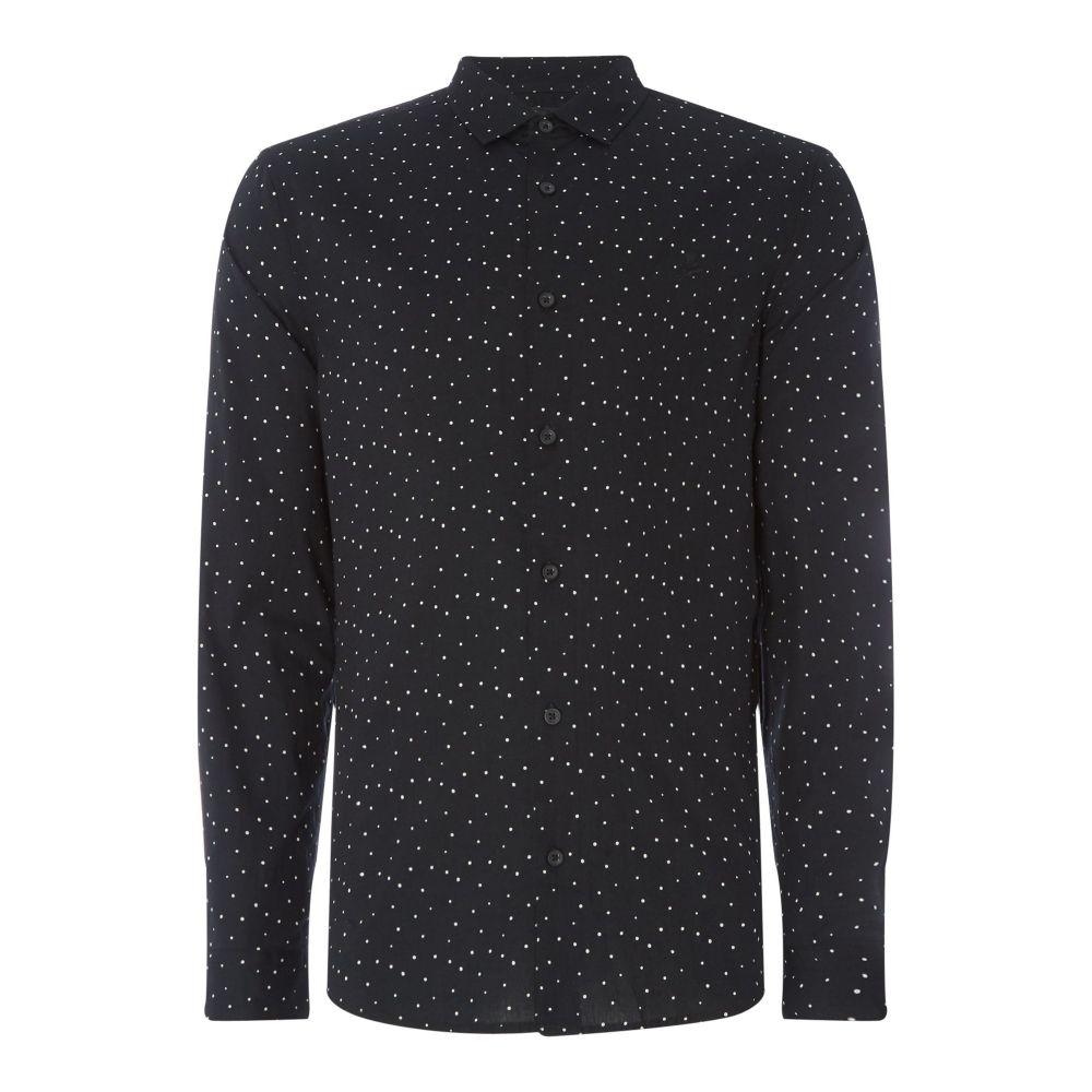 レーベルラボ Label Lab メンズ トップス シャツ【Lark Spot Printed Shirt】black
