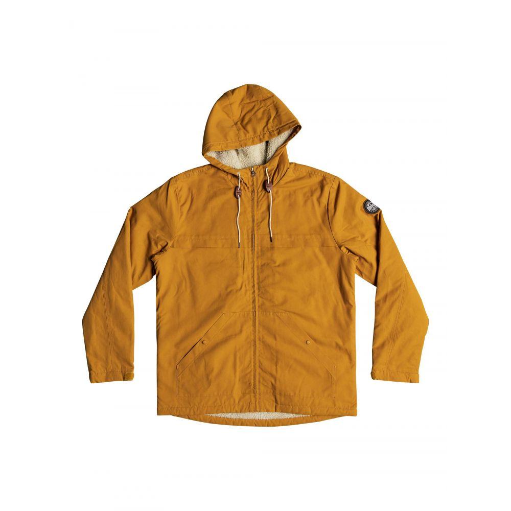クイックシルバー Quiksilver メンズ アウター コート【Wanna Water Resistant Hooded Parka】yellow