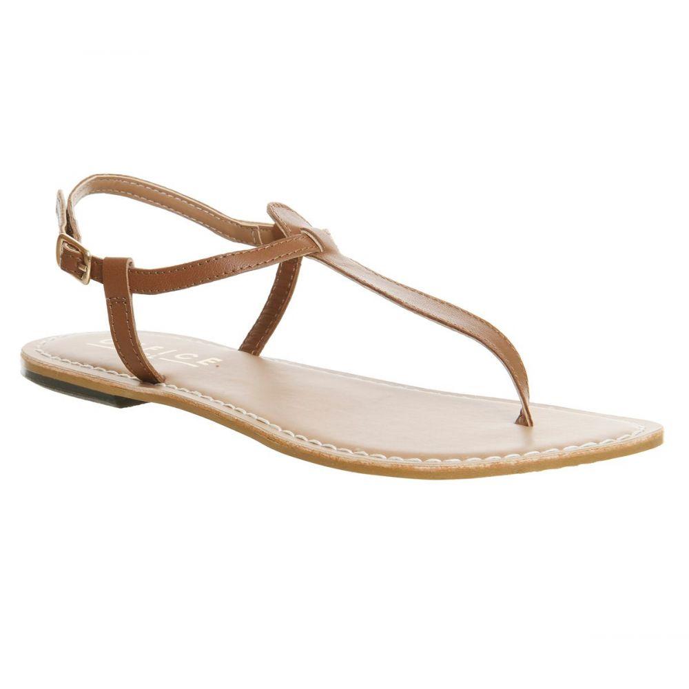 オフィス Office レディース シューズ・靴 サンダル・ミュール【Samba Toe Post Sandals】tan