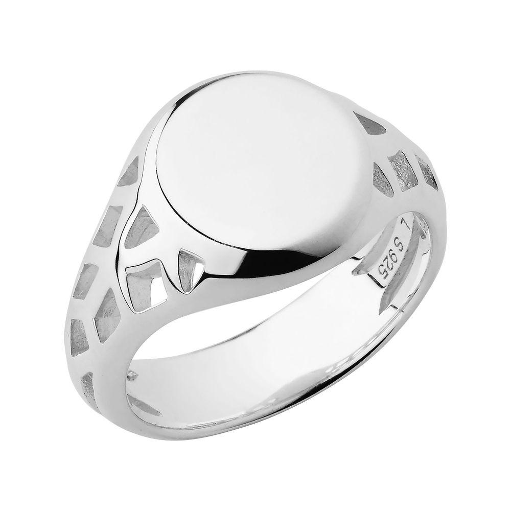 リンクス オブ ロンドン Links of London レディース ジュエリー・アクセサリー 指輪・リング【Timeless Sterling Silver Signet Ring】silver