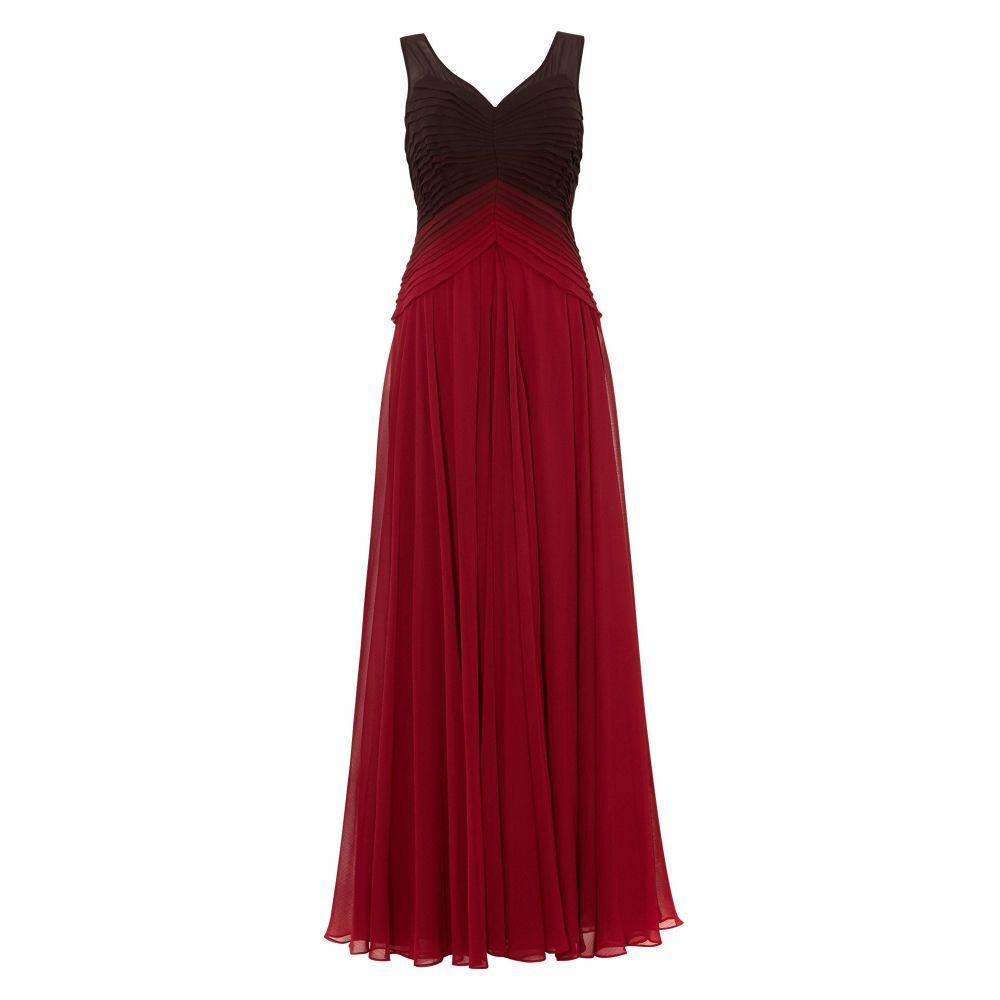フェーズ エイト Phase Eight レディース ワンピース・ドレス ワンピース【Elfie Ombre Dress】scarlet