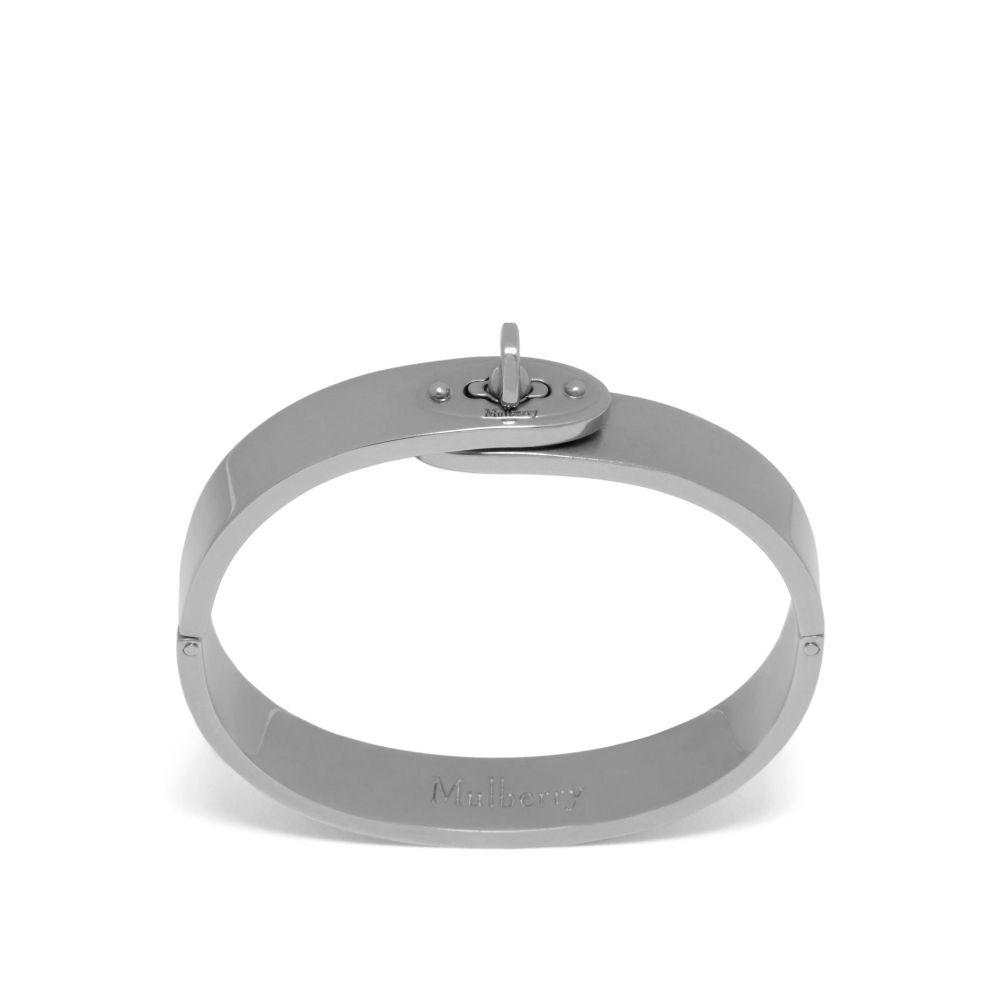 マルベリー Mulberry レディース ジュエリー・アクセサリー ブレスレット【Bayswater Metal Slim Bracelet】silver
