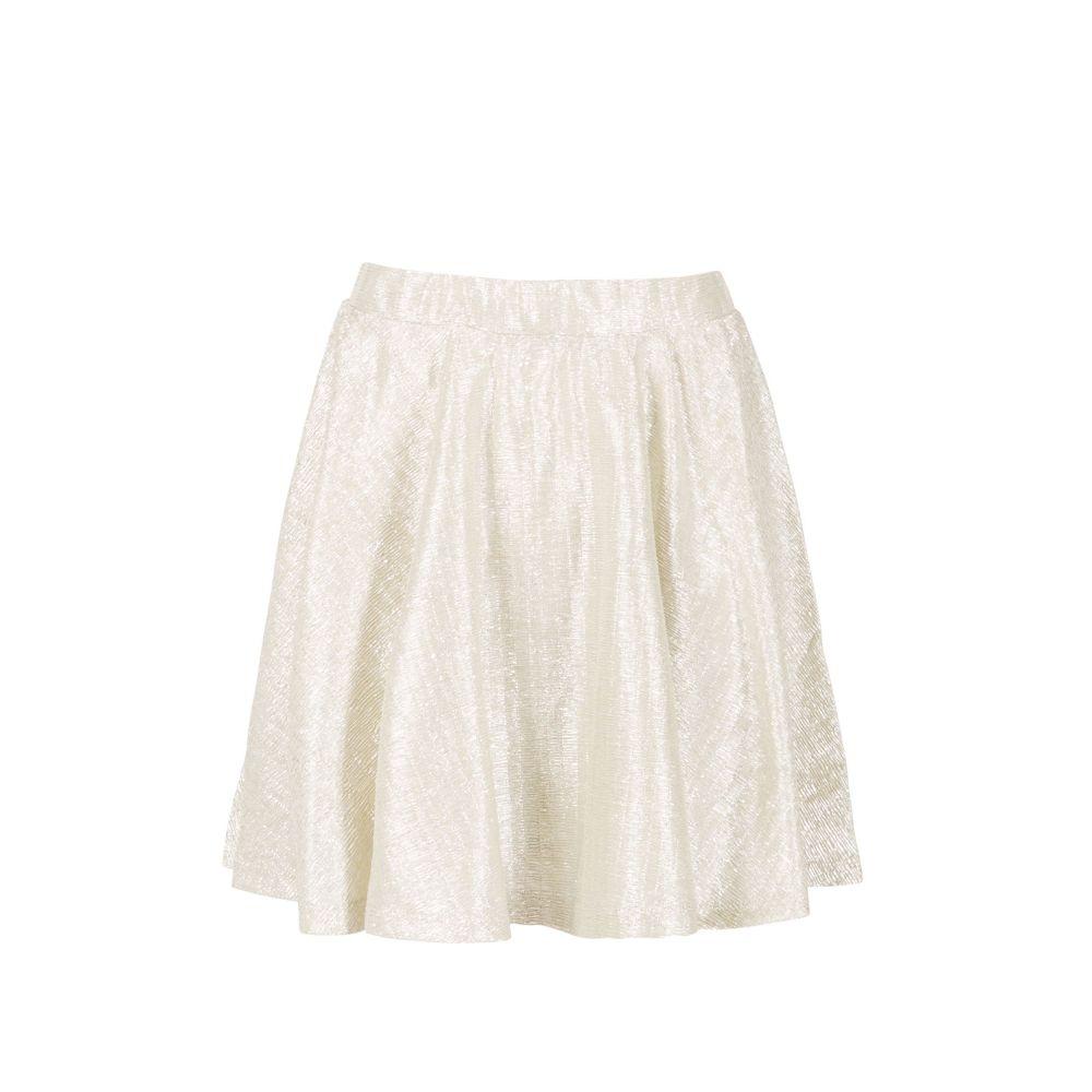 ミント&ベリー Mint & Berry レディース スカート ミニスカート【Elasticated Waist Skater Skirt】silver