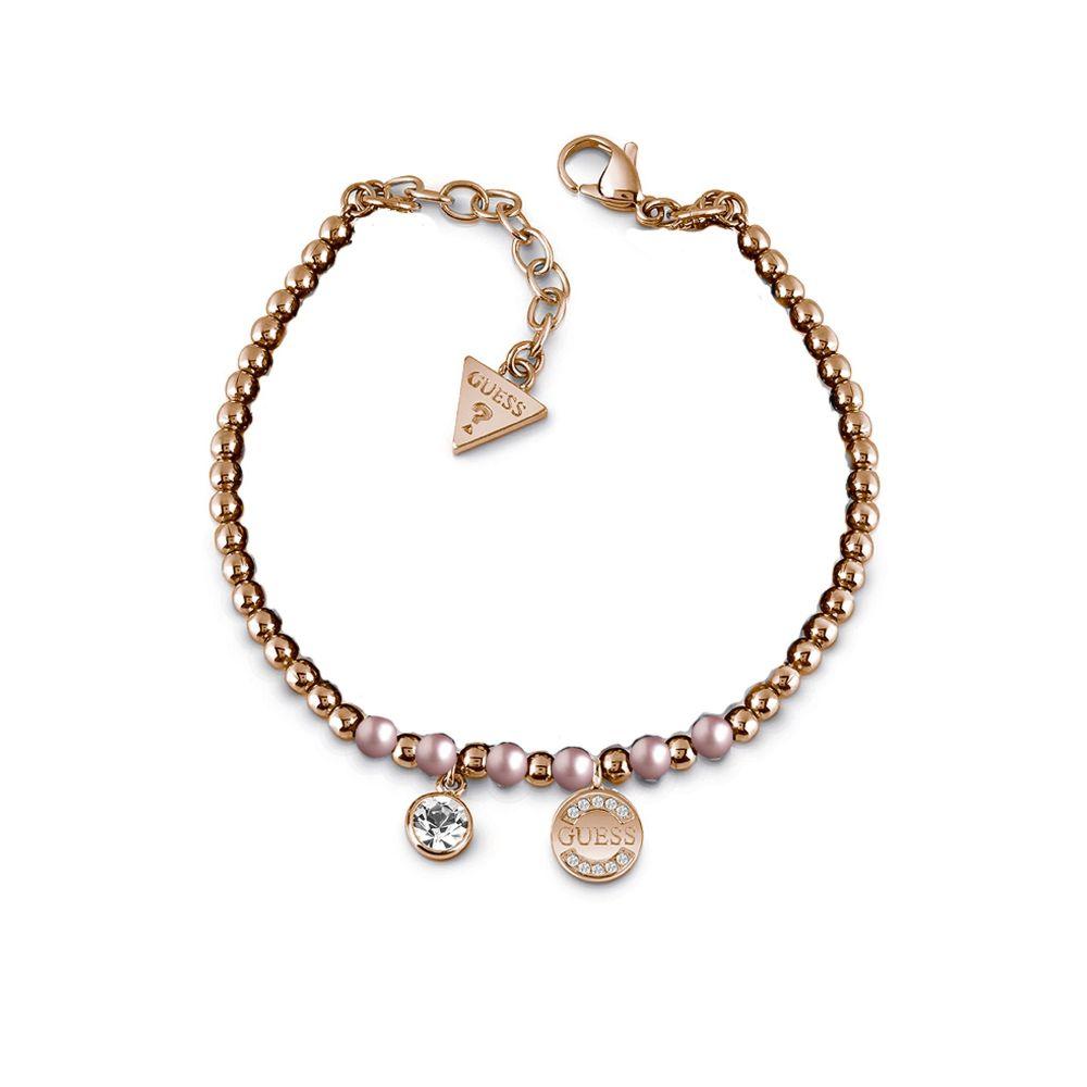 ゲス Guess レディース ジュエリー・アクセサリー ブレスレット【Rose Gold Plated Bracelet】rose gold