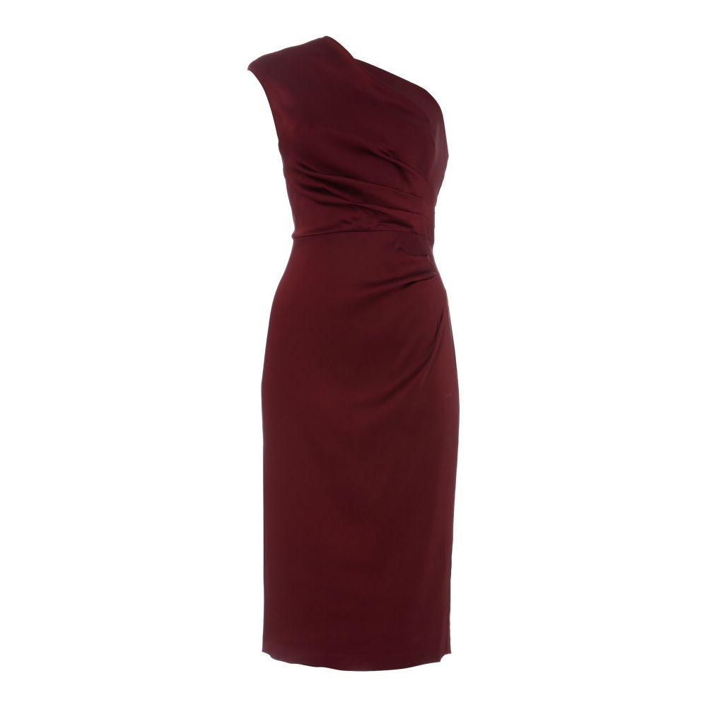 アドリアナ パペル Adrianna Papell レディース ワンピース・ドレス パーティードレス【One Shoulder Shift Dress】red