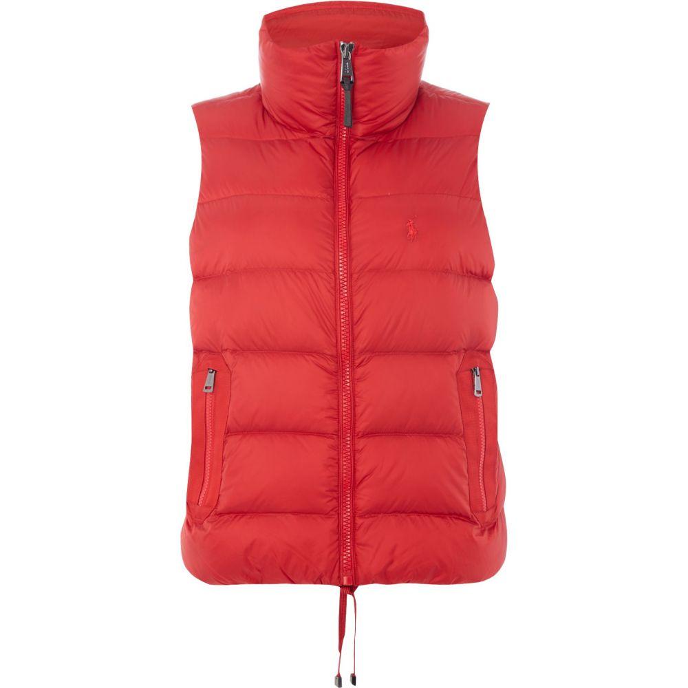 ラルフ ローレン Polo Ralph Lauren レディース トップス ベスト・ジレ【Padded Gilet】red