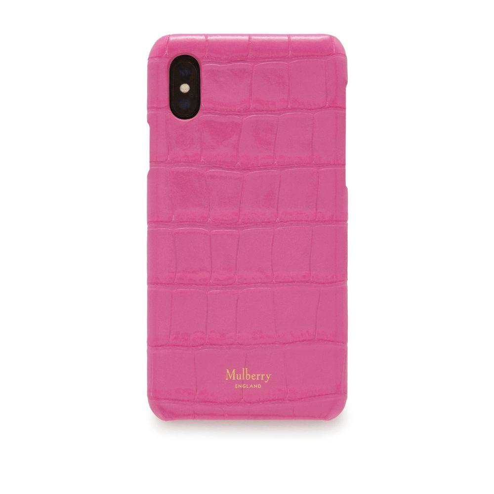 マルベリー Mulberry レディース iPhone (X)ケース【Iphone X/xs Cover】raspberry pink