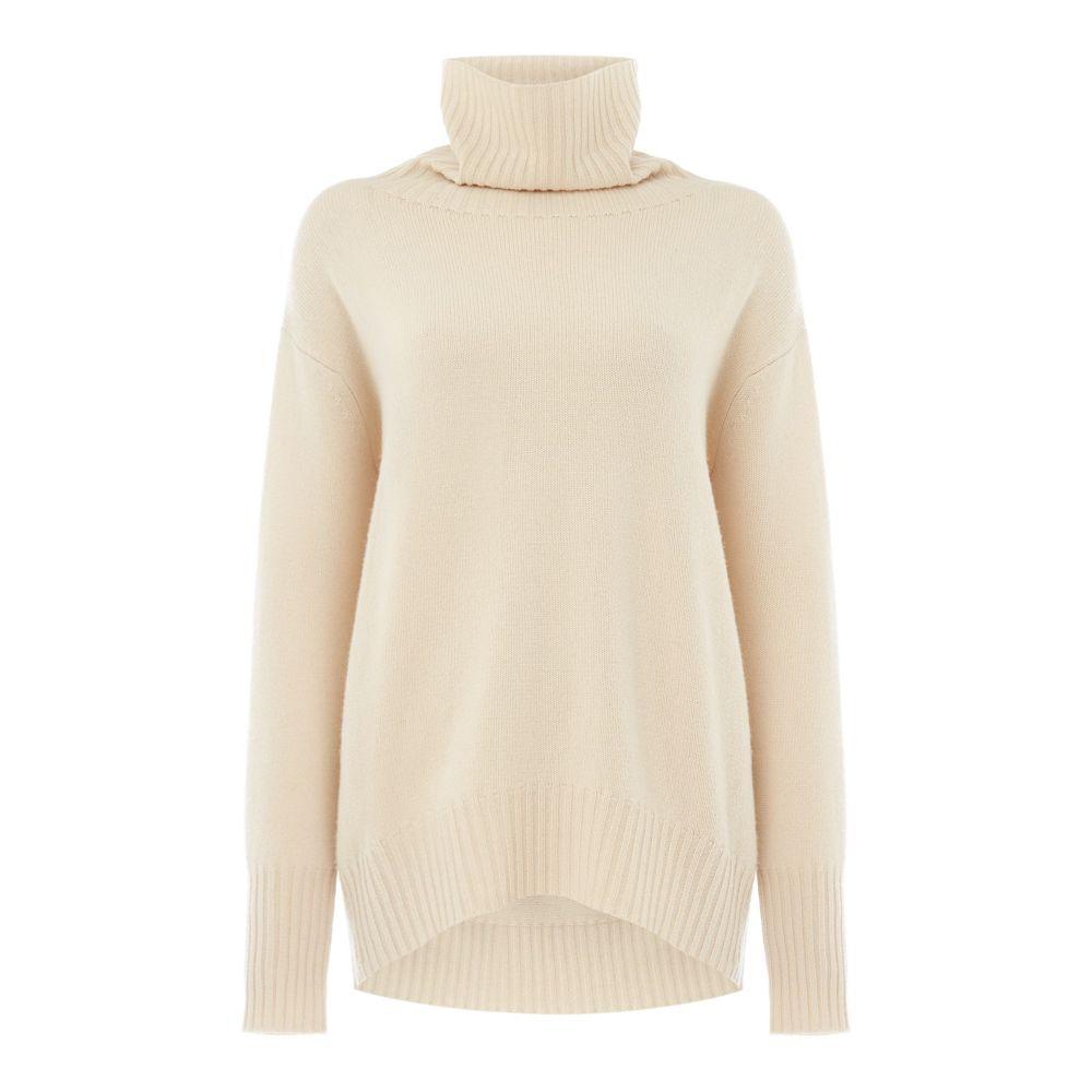 マックスマーラ Max Mara Studio レディース トップス ニット・セーター【High Neck Sweater】off white