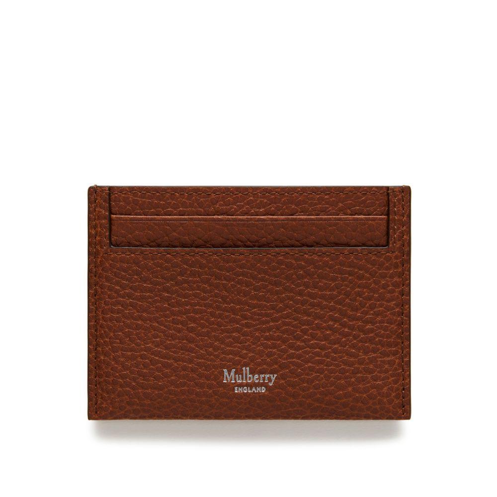 マルベリー Mulberry レディース カードケース・名刺入れ【Classic Credit Card Slip】oak