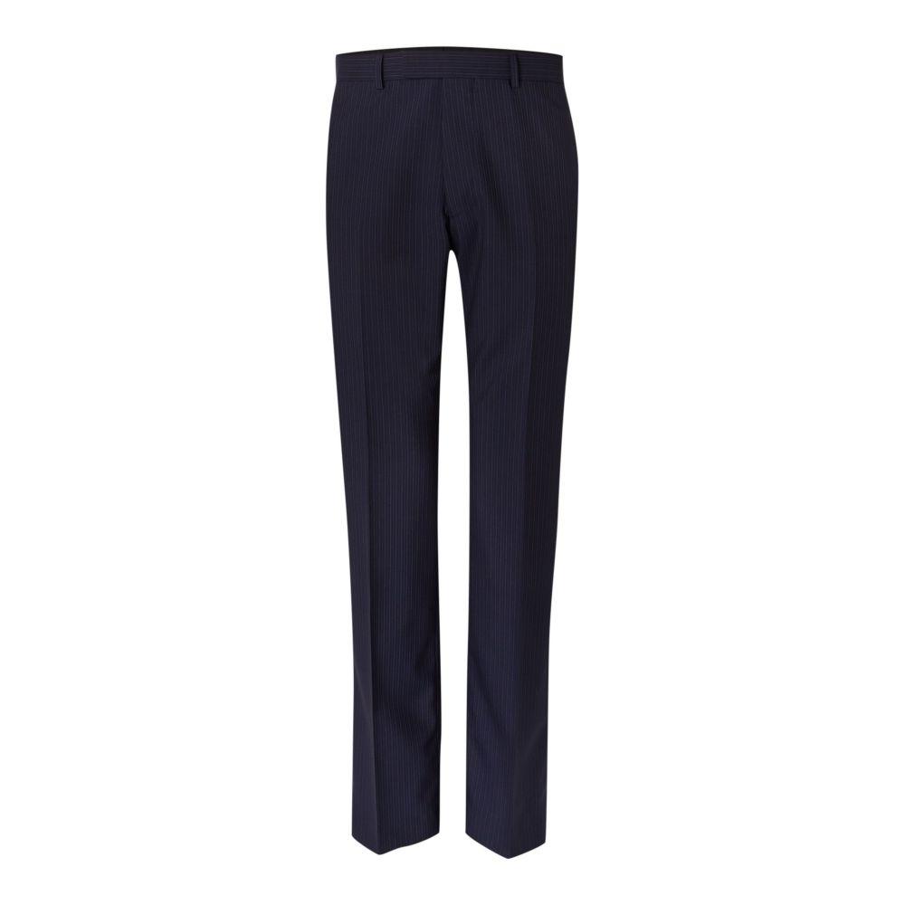ハウィック Howick Tailored メンズ ボトムス・パンツ スラックス【Branson Fine Stripe Suit Trousers】navy