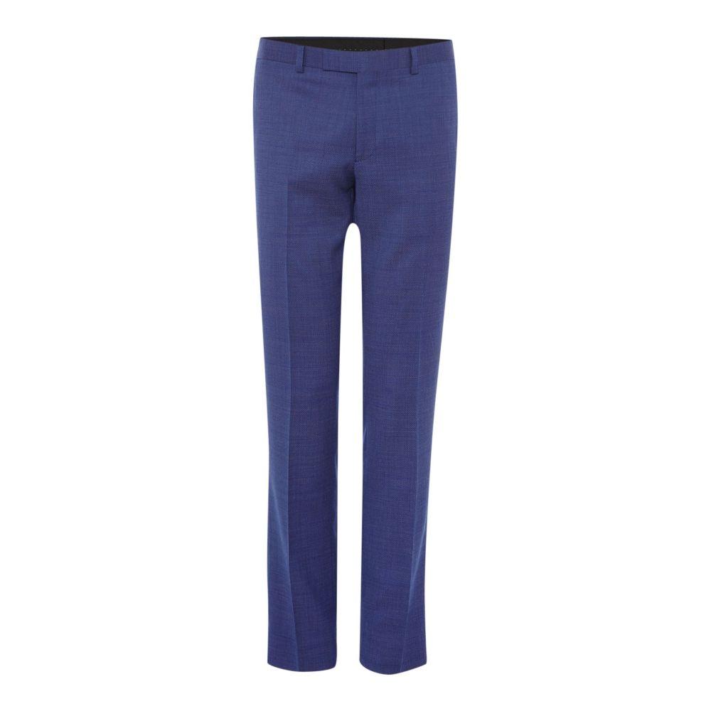 ケネス コール Kenneth Cole メンズ ボトムス・パンツ スラックス【Julian Slim Fit Pindot Suit Trouser】navy