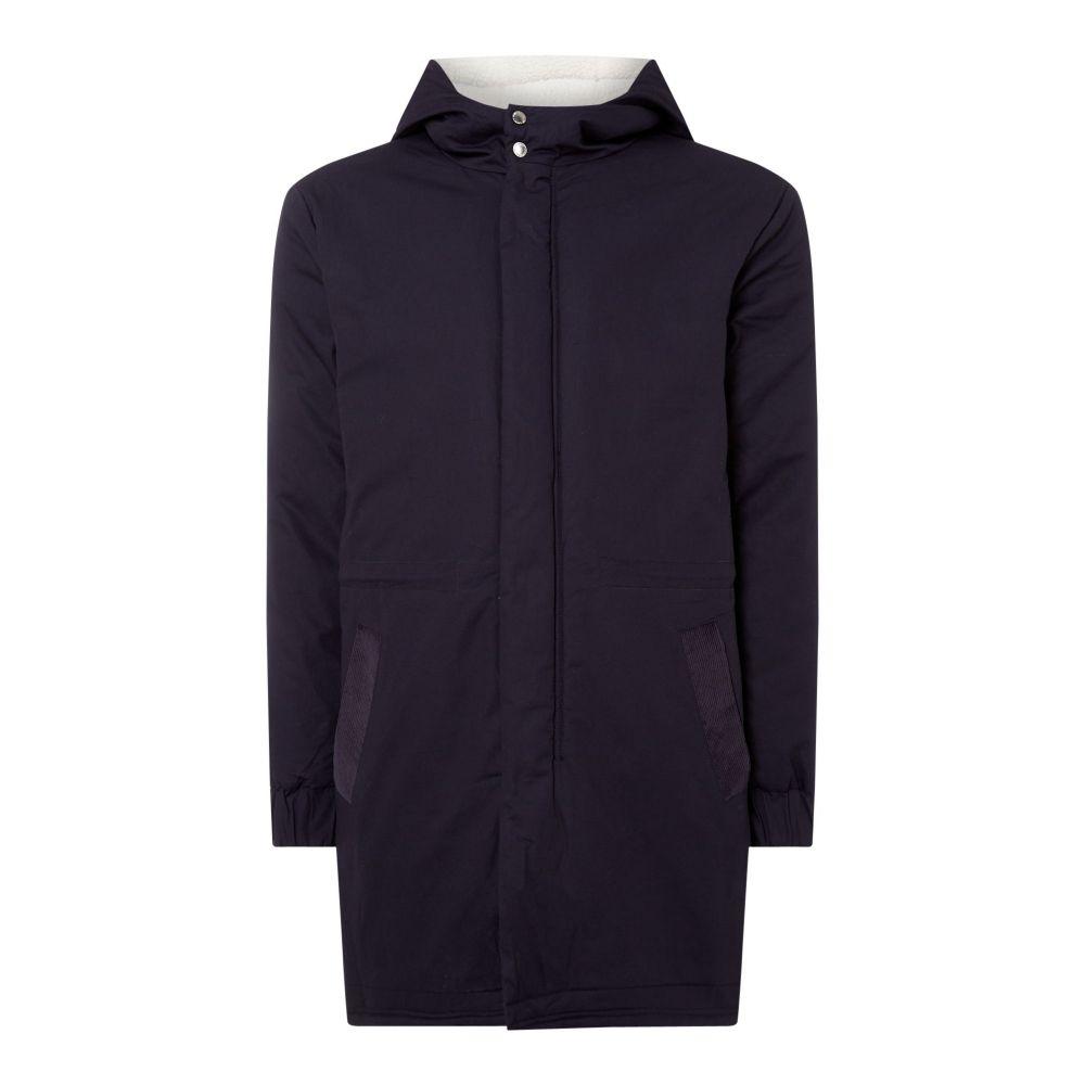 ネイティブユース Native Youth メンズ アウター ジャケット【Hooded Zip Thru Jacket】navy