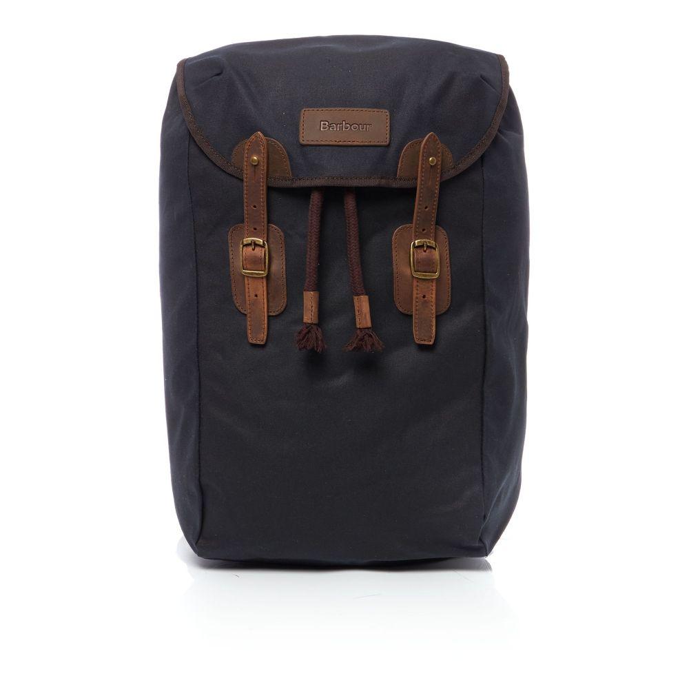 バーブァー Barbour メンズ バッグ バックパック・リュック【Waxed Leather Backpack】navy