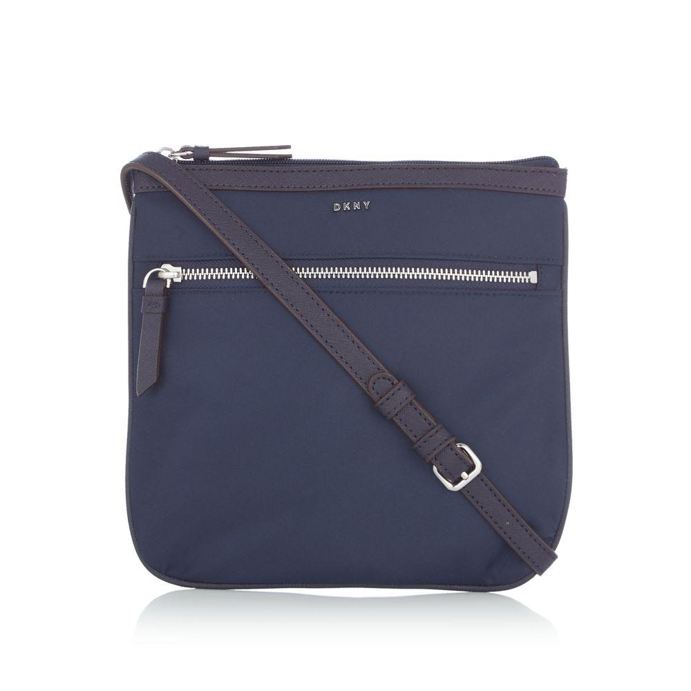 ダナ キャラン ニューヨーク DKNY レディース バッグ ショルダーバッグ【Casey Zip Pocket Cross Body Bag】navy