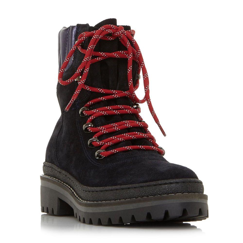 トミー ヒルフィガー Tommy Hilfiger レディース ハイキング・登山 シューズ・靴【Mod Hiking Boots】navy