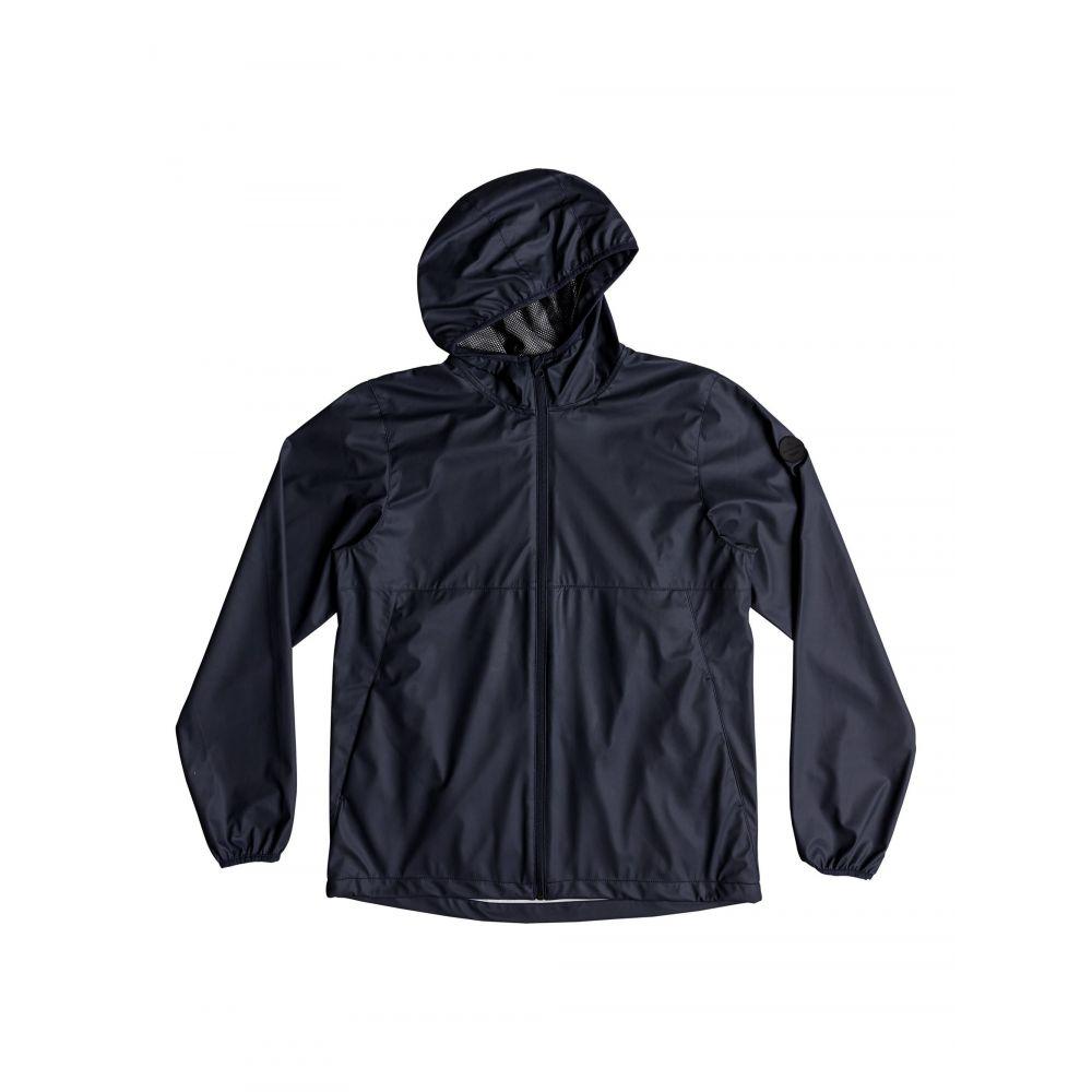 クイックシルバー Quiksilver メンズ アウター レインコート【Kamakura Rains Hooded Rain Jacket】navy