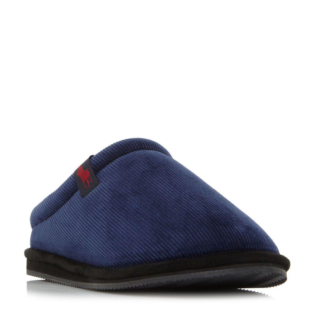 ラルフ ローレン Polo Ralph Lauren メンズ シューズ・靴 スリッパ【Jacquee Scuff Polo Mule Slippers】navy