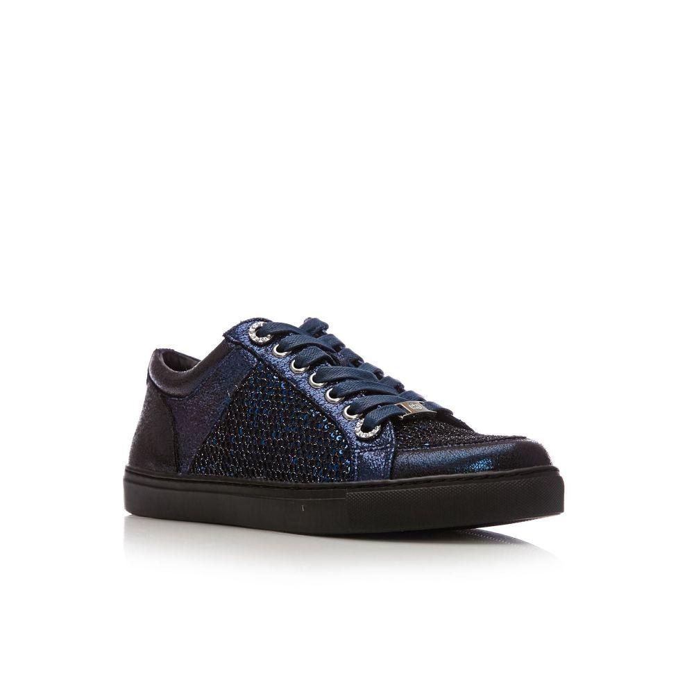 モーダインペレ Moda in Pelle レディース シューズ・靴【Fiola Low Leisure Shoes】navy