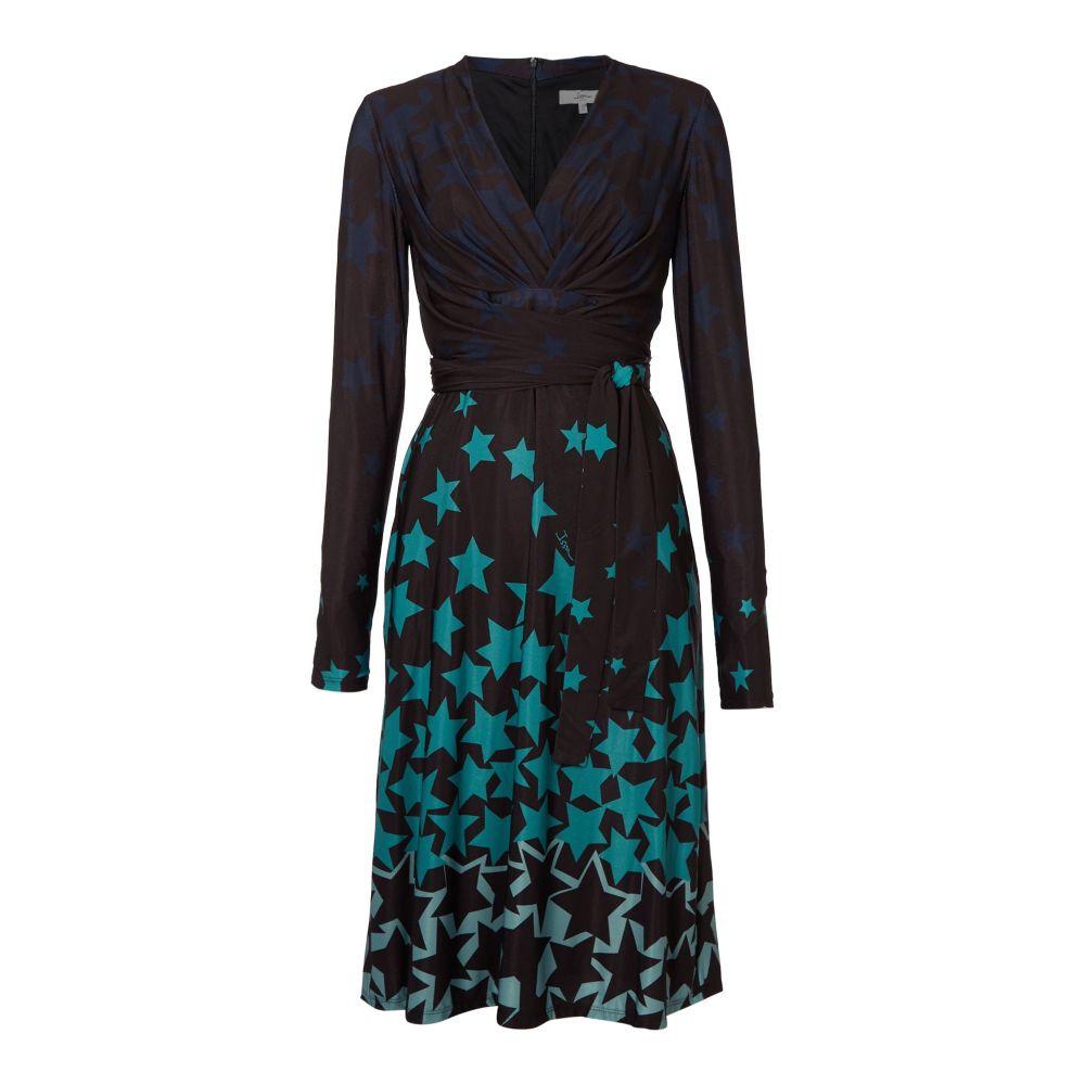 イッサ ISSA レディース ワンピース・ドレス パーティードレス【Kate Border Print Star Dress】multi-coloured