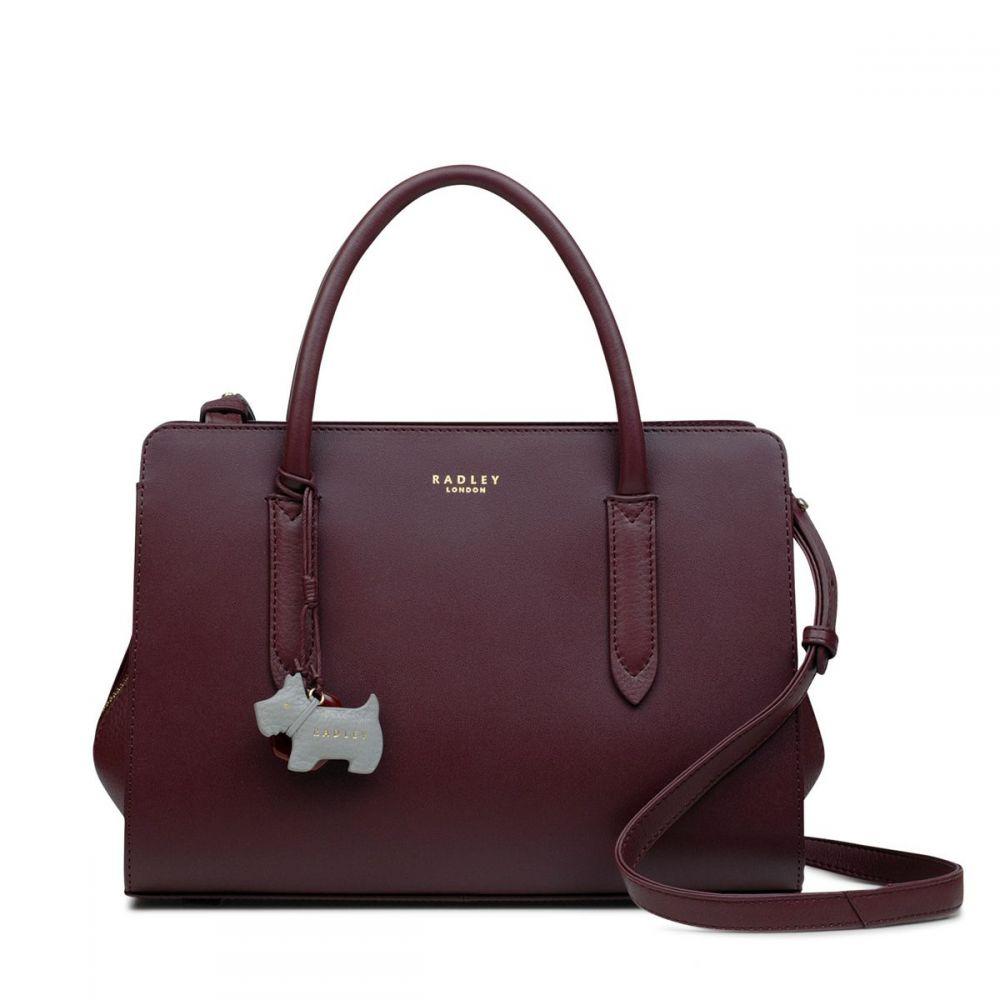 ラドリー Radley レディース バッグ トートバッグ【Liverpool Street Medium Multiway Bag】maroon