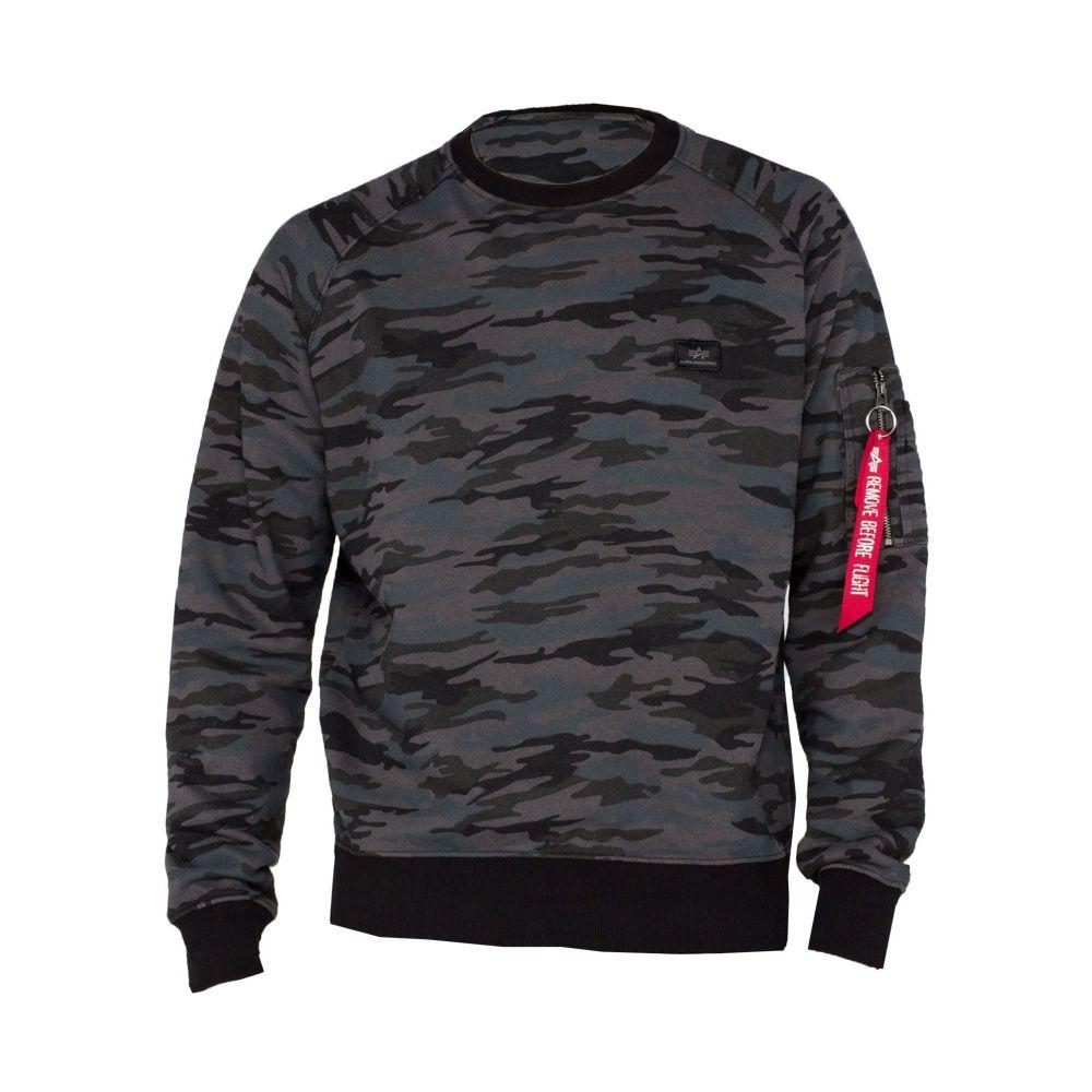 アルファ インダストリーズ Alpha Industries メンズ トップス スウェット・トレーナー【X Fit Sweatshirt】mauve
