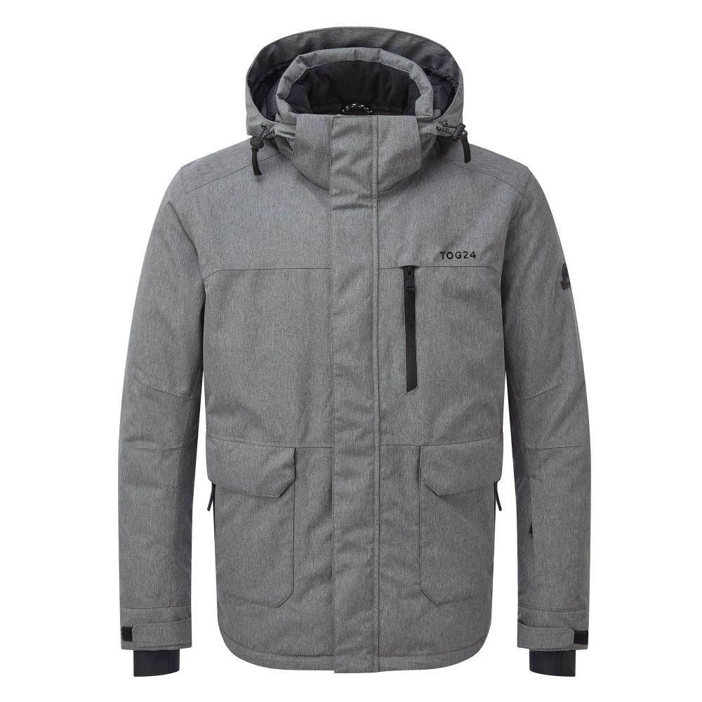 トッグ24 Tog 24 メンズ スキー・スノーボード アウター【Vertigo Waterproof Insulated Ski Jacket】grey marl